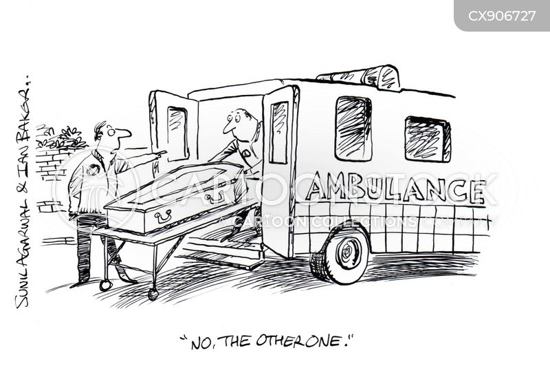 paramedic cartoon