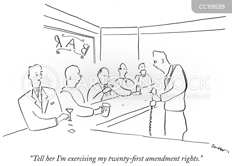 twenty first amendment cartoon