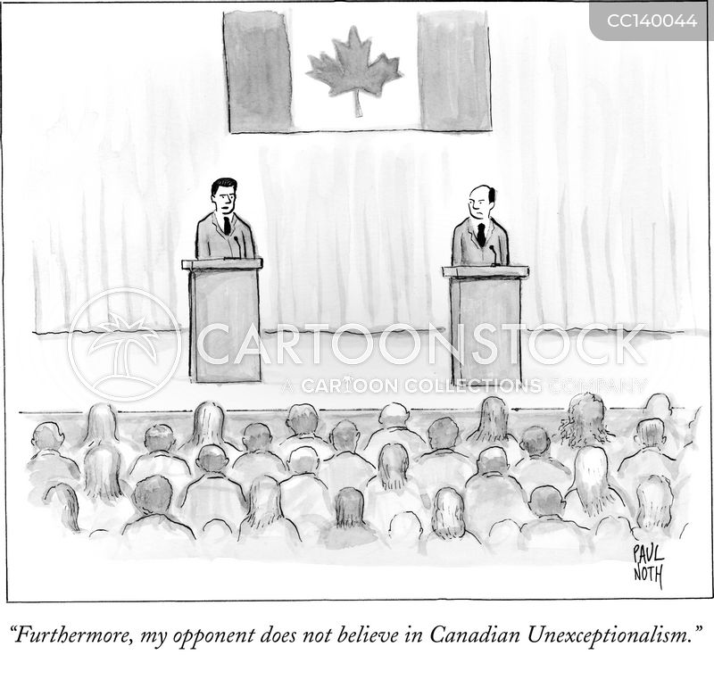 canadians cartoon