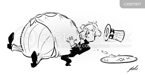 suffering cartoon