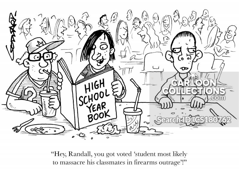 Yearbooks cartoon