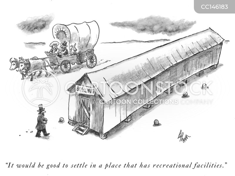wagon trains cartoon