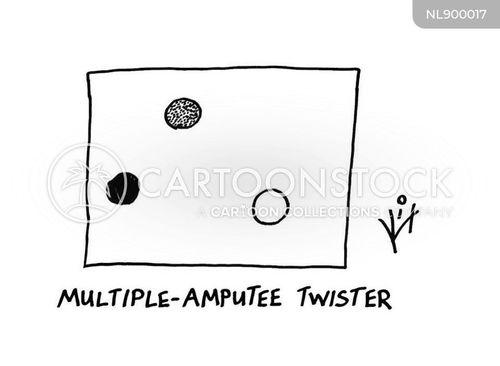 amputate cartoon