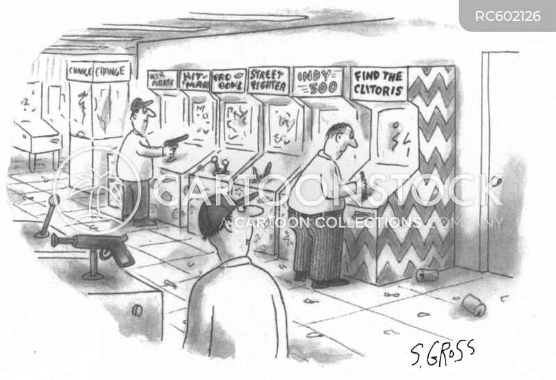 arcades cartoon