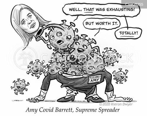 spread cartoon