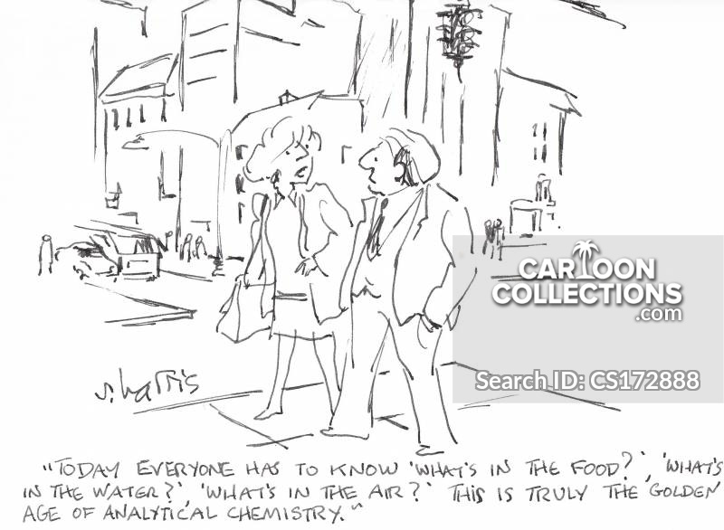 analytical chemist cartoon