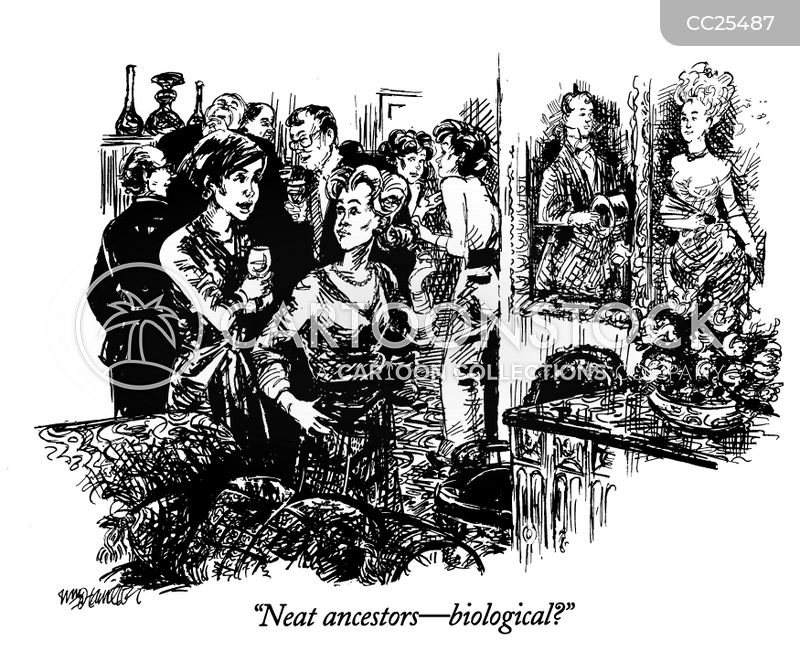 genealogist cartoon