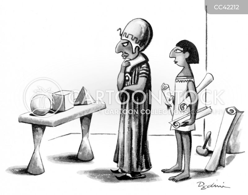 ancient egyptian cartoon
