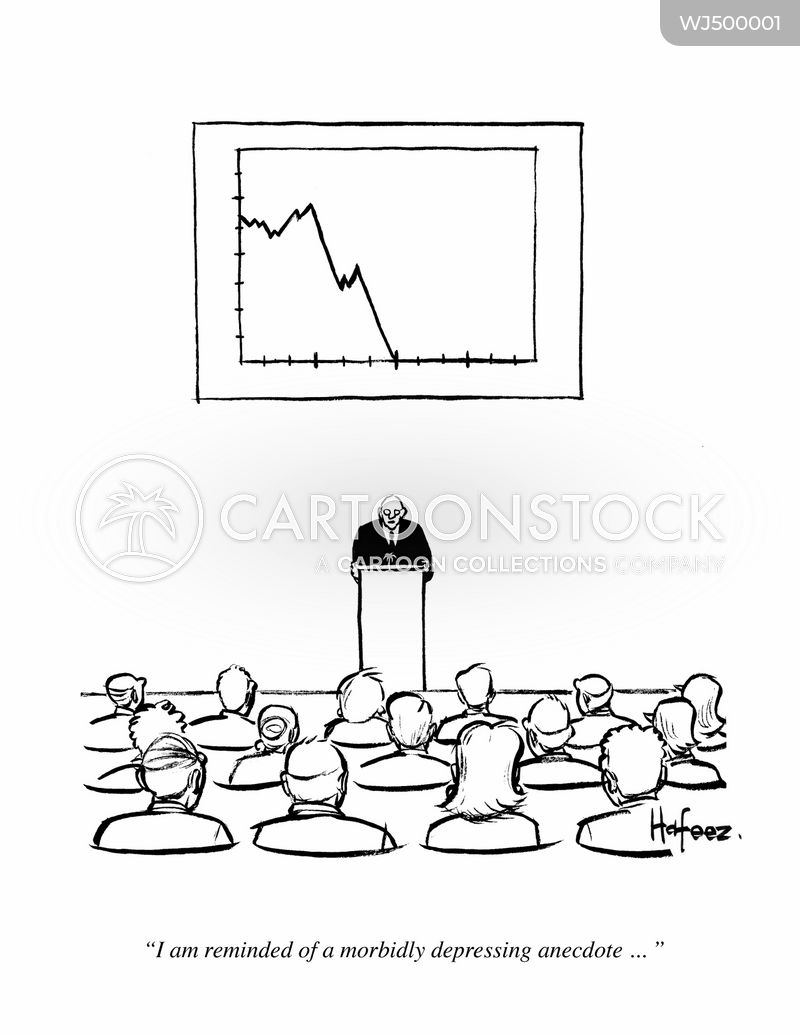Downturns cartoon