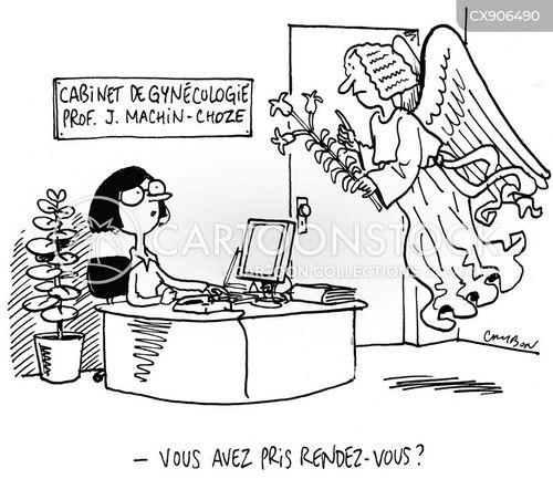gynaecologist cartoon