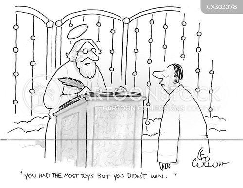 st.peter cartoon