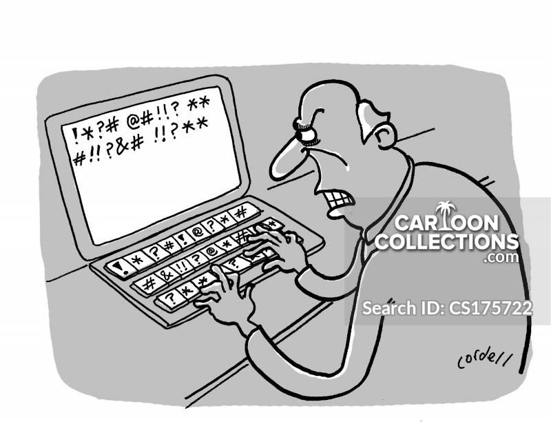 internet bullying cartoon