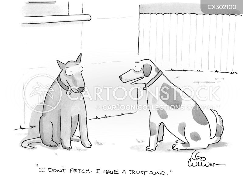 trust fund cartoon
