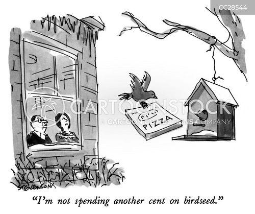 waste of money cartoon