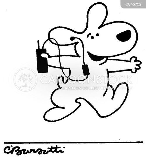 earphone cartoon