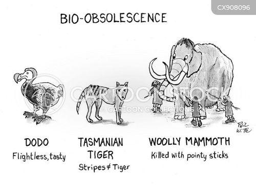 endangered cartoon