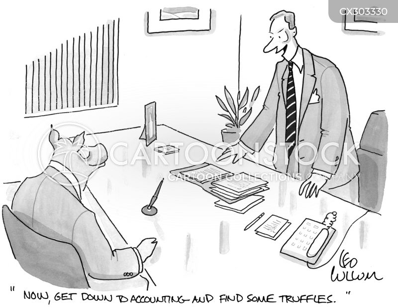 truffles cartoon