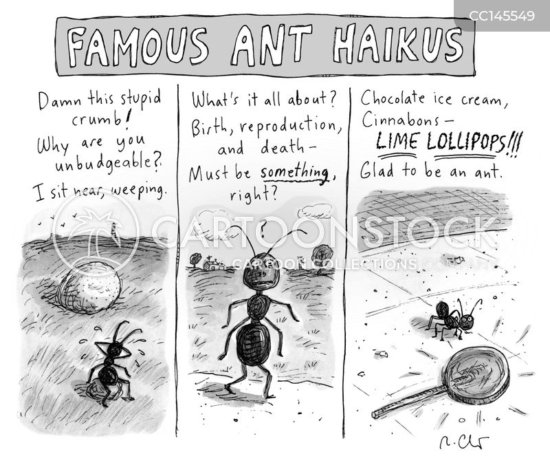 haikus cartoon