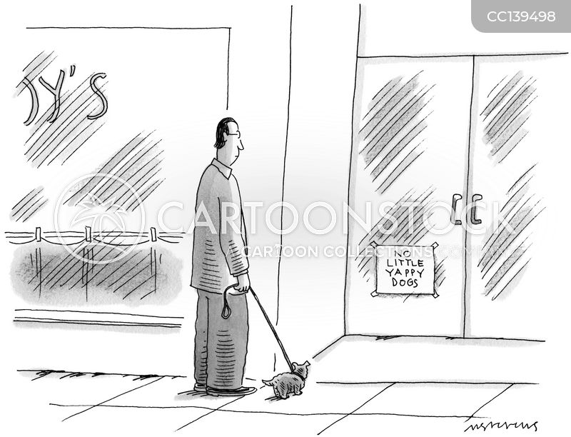 Purse Dogs cartoon