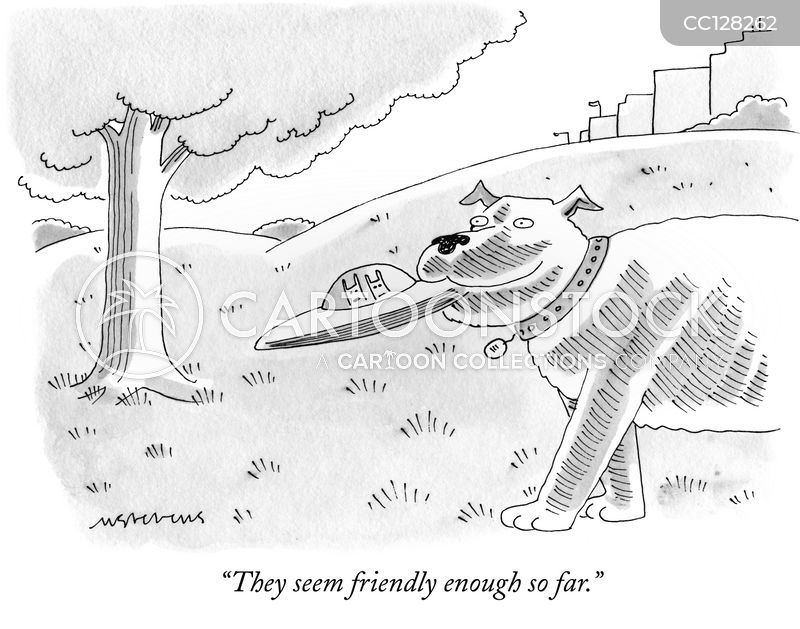 flying discs cartoon