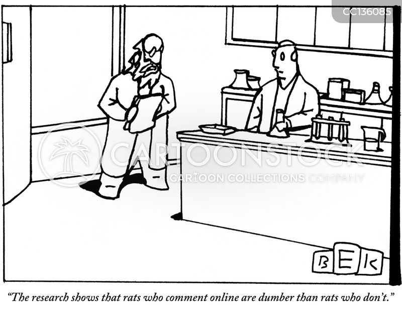 researchers cartoon