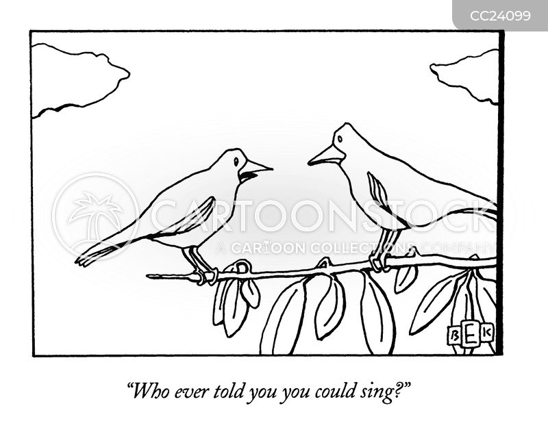 Chirping cartoons, Chirping cartoon, funny, Chirping picture, Chirping pictures, Chirping image, Chirping images, Chirping illustration, Chirping illustrations