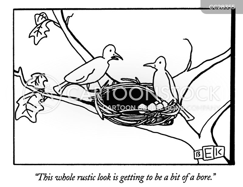 nest cartoon