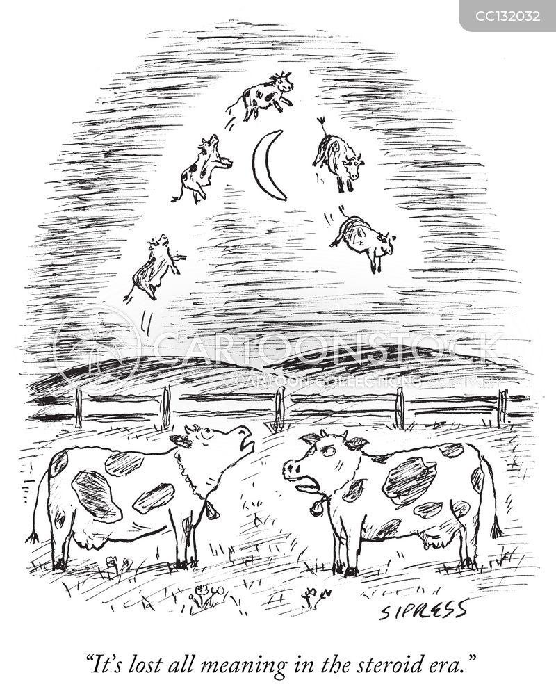 jumping cows cartoon