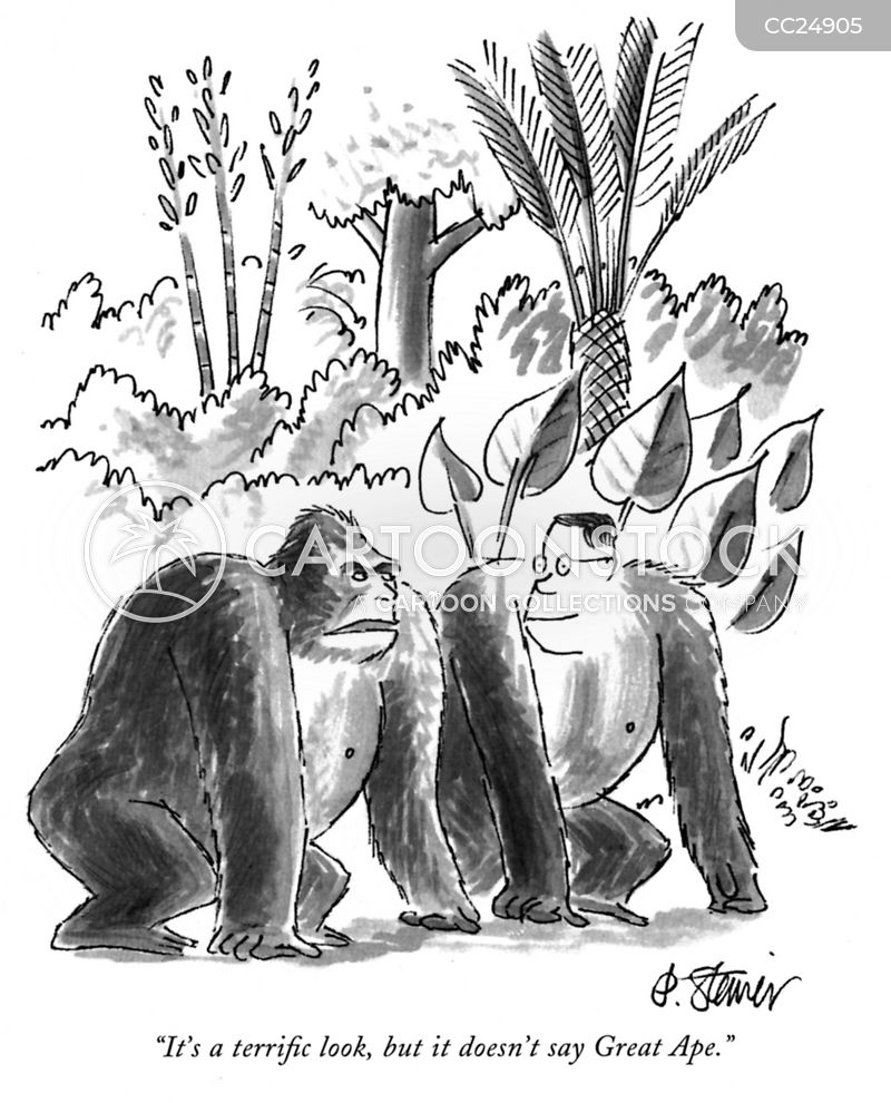 great ape cartoon
