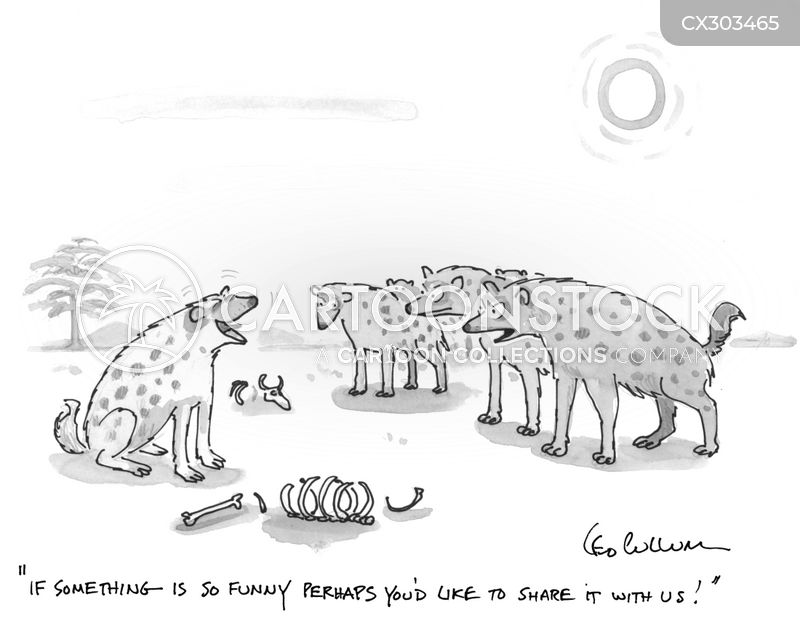 Hyenas cartoon