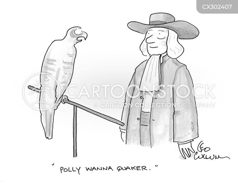 polly want a cracker cartoon