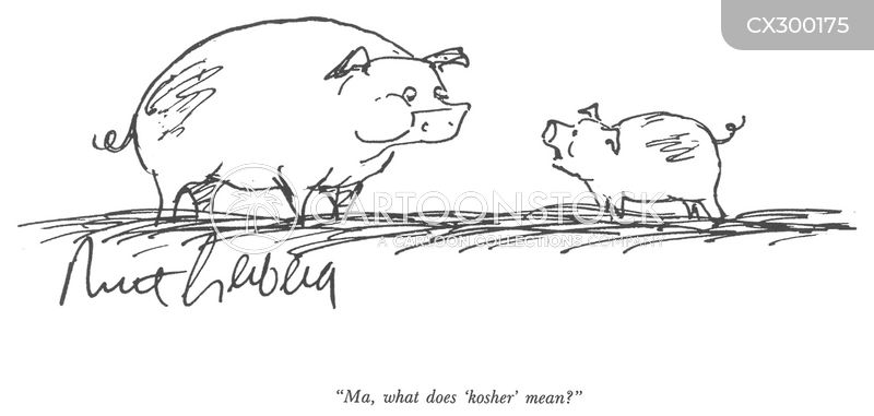 dietary laws cartoon