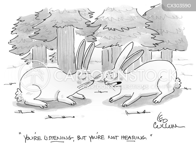 hearing cartoon