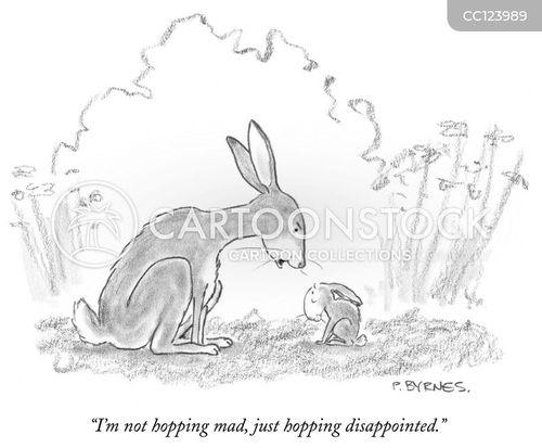 hopping cartoon
