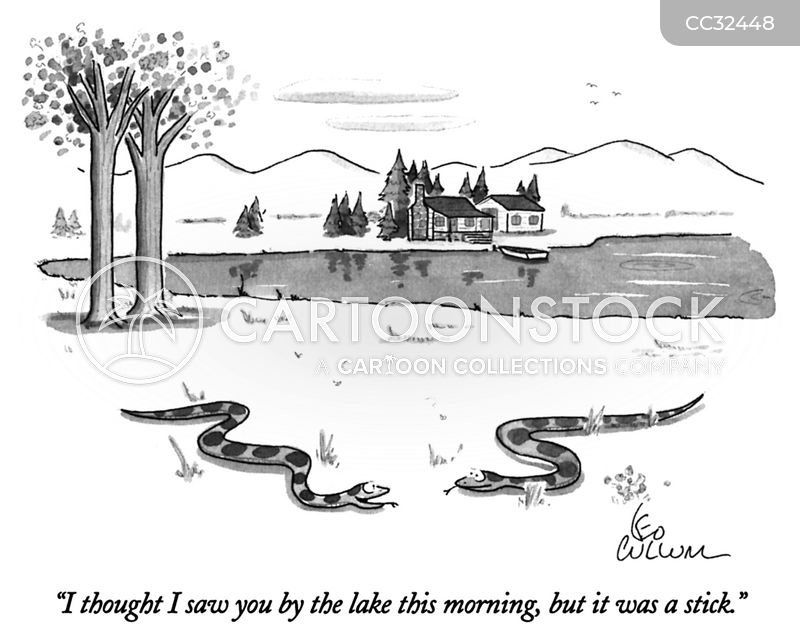 Snakes cartoon