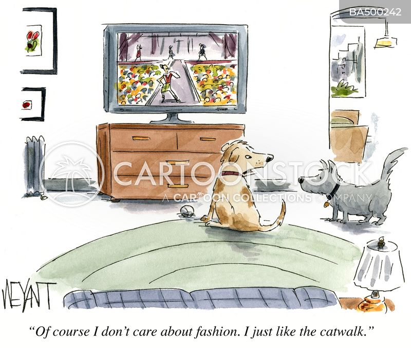 catwalks cartoon
