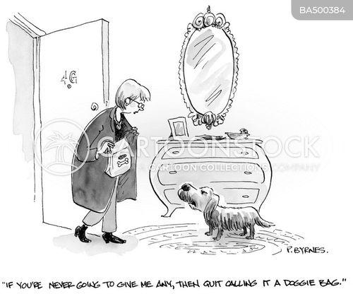 doggy bags cartoon