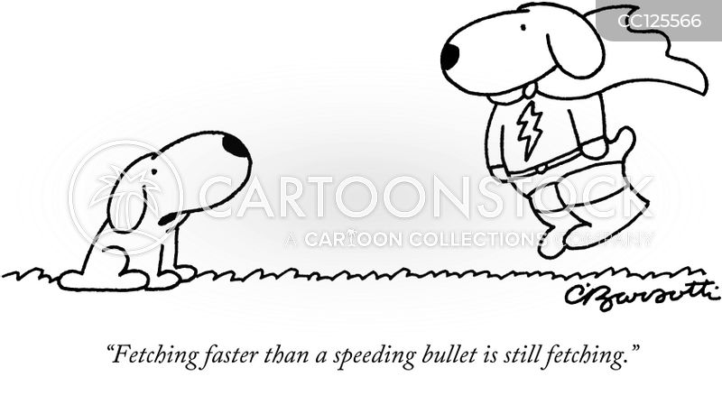 faster cartoon