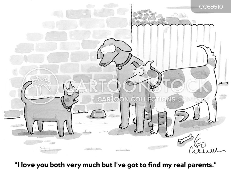 biological parents cartoon