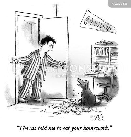 shredding cartoon