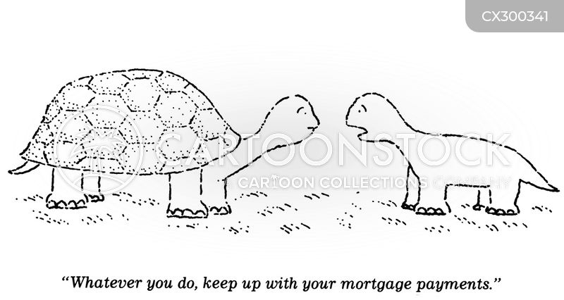 mortgages cartoon