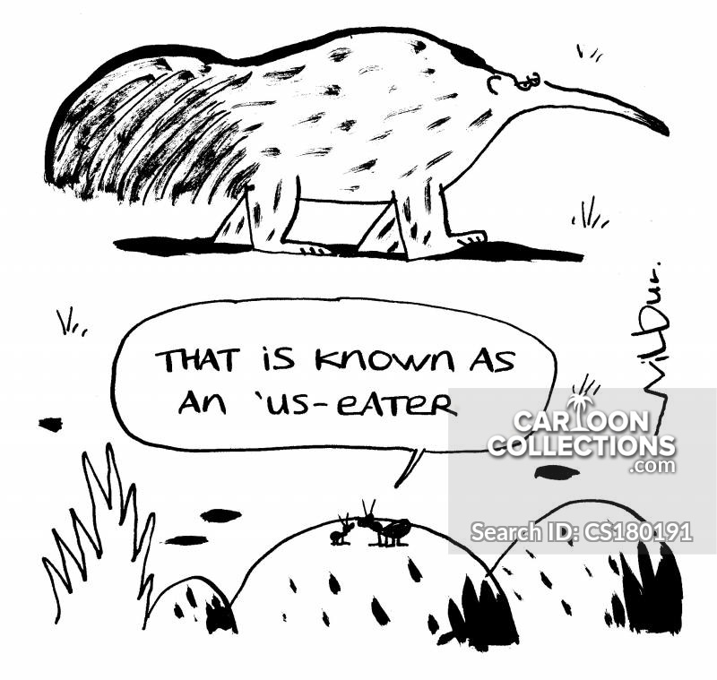 Ant Eaters cartoon