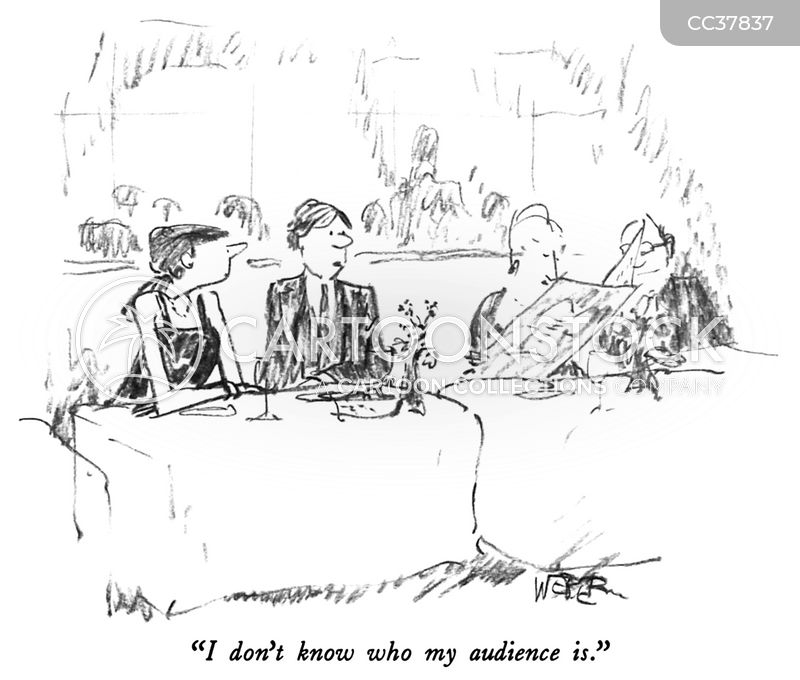 receptions cartoon