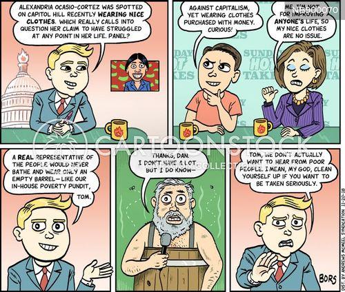 news shows cartoon