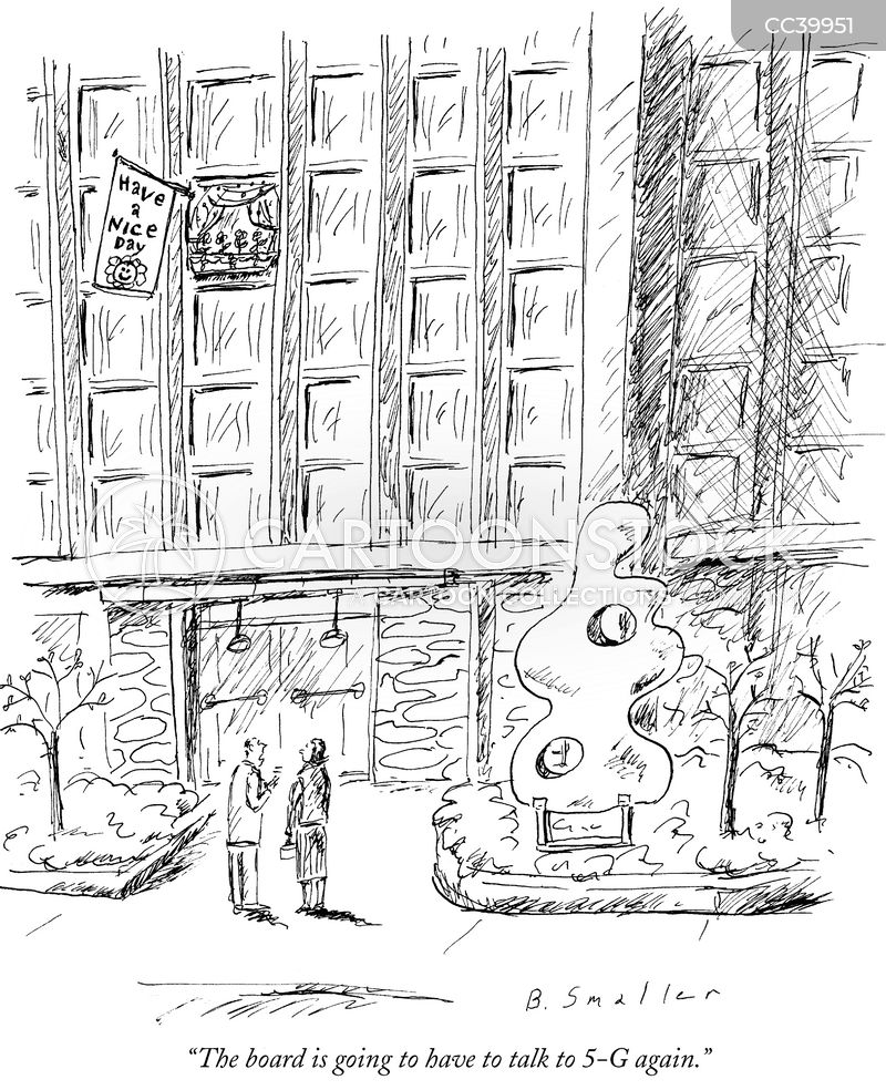 Apartment Buildings cartoon