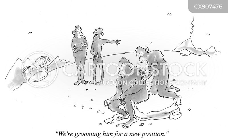 combing cartoon