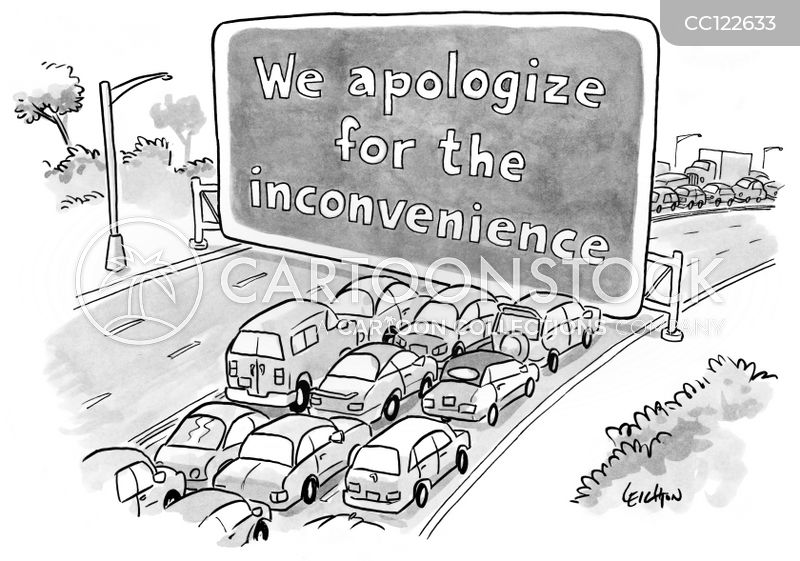 apology cartoon