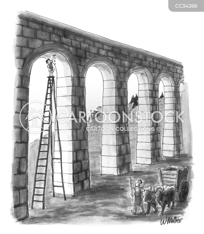 aqueduct cartoon