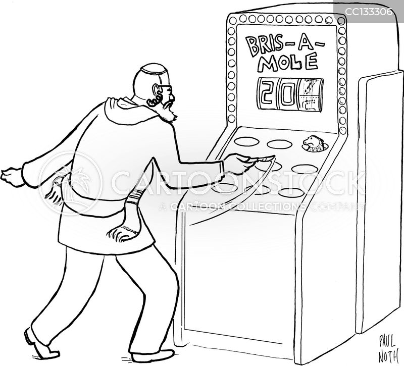 Arcade cartoon