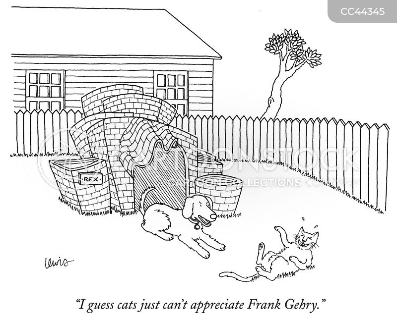 architecture cartoon